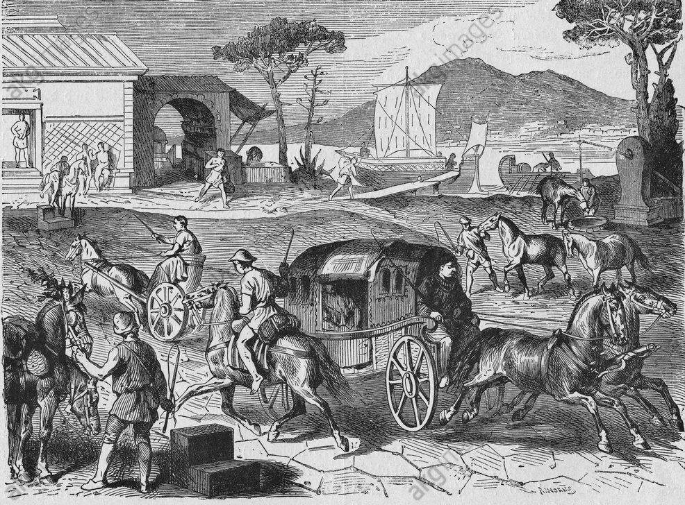 Pony Express nell'antica Roma